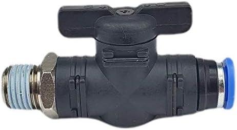Details about  /Pneumatik Absperrhahn Steckverbinder Drosselrückschlagventil 4-12mm Absperrhähne