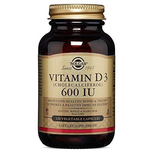 Solgar, Vitamin D3 600 IU Vegetable tapasules, 120