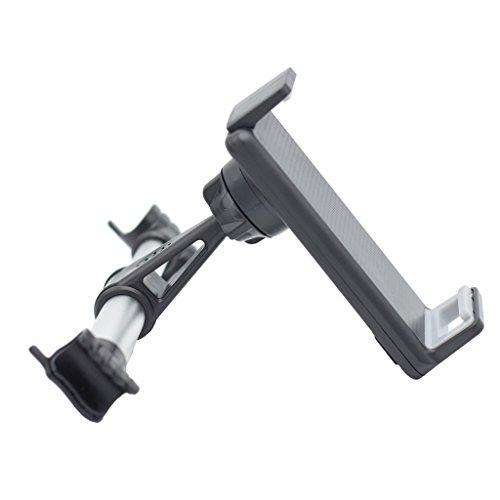 kdjsic Asiento Trasero de Coche de aleación Universal 4-11 Pulgadas Soporte para Tableta de teléfono Inteligente Soporte de Montaje