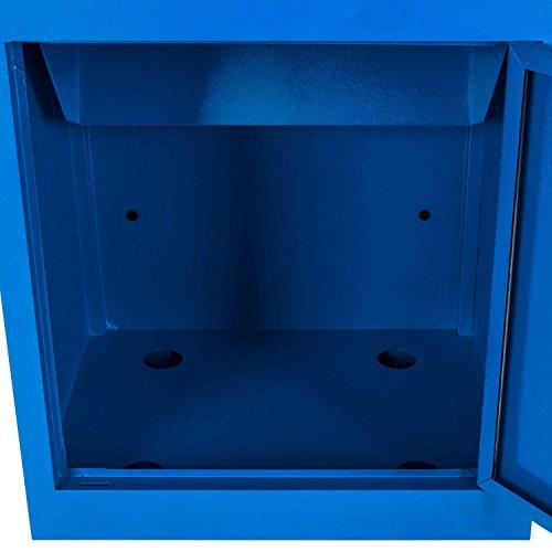 Paketbriefkasten Smart Parcel Box, blau - 7
