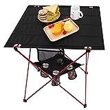 MOVTOTOPTable de Camping Pliable avec Porte-gobelets, Table de Camping légère...