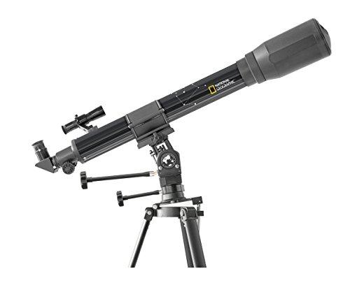 National Geographic Telescopische telescoop 70/900 NG met montage, statief en toebehoren voor het bekijken van maan, planeten en terrestrische objecten