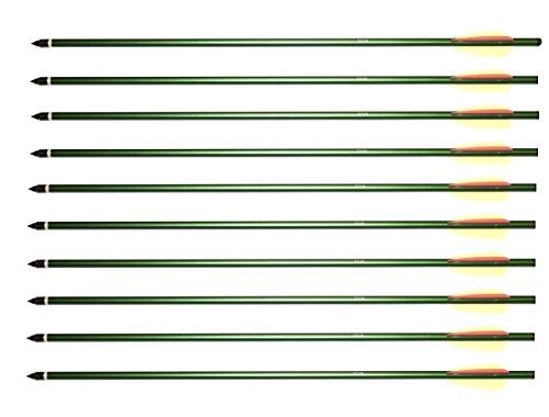 Armbrustbolzen Bolzen für Armbrust 20 Zoll grün