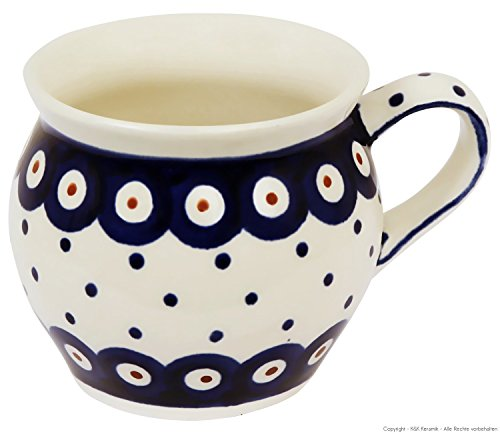 Böhmischer mug bunzlau, v = 0,16 28 l (motif