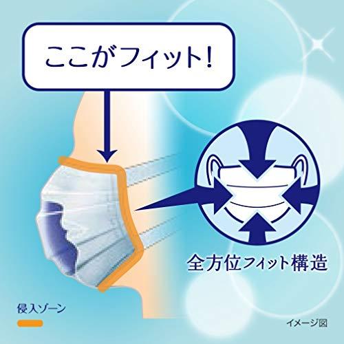 (日本製PM2.5対応)超快適マスクプリ-ツタイプふつう30枚入(unicharm)