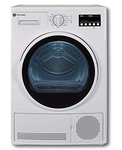 White Knight B96V8G 8kg Sensor Condenser Tumble Dryer - Reverse Action