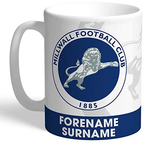 Personalised Millwall FC Bold Crest Mug