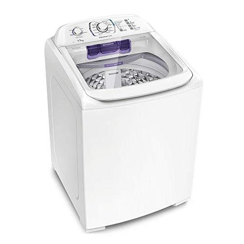 Lavadora Turbo Electrolux LPR17 Branca com Capacidade Premium 17kg e Cesto Inox - 110V
