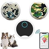 Mini Pet Locator Alarm Phone Bluetooth Cat Dog GPS Tracker tag, Remote Selfie Shutter, Keychain Smart Anti-lost Finder, Etiqueta de seguimiento alarma localizador mascotas (3pcsB)