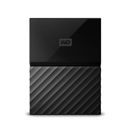 WD My Passport 2TB Portable Hard Drive and Automatic Backup Software Black