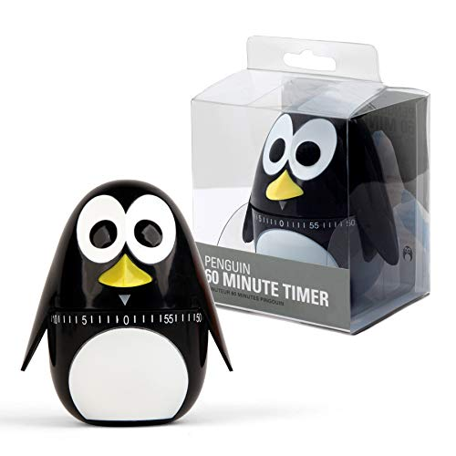 Preis am Stiel 1x Küchenuhr ''Pinguin'' | Kurzzeitmesser | Eieruhr | Wecker