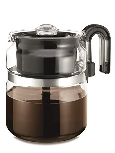 Stovetop Percolator Coffee Pot, Glass, 8 cup (40 oz) …