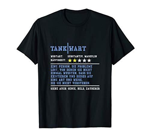 Tankwart Ausbildung Tankstelle Arbeit Beruf Job T-Shirt