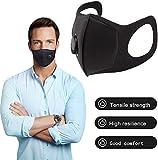 Maschere antipolvere, PM2.5 Maschere anti-inquinamento in carboni attivi, riutilizzabili e lavabili, maschera per respirare con filtro dell'aria per corsa Ciclismo Motociclismo