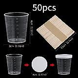 Zoom IMG-1 bicchieri in plastica graduati scala