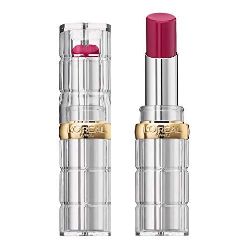 L'Oréal Paris Color Riche Shine 464 Color Hype, pflegender Lippenstift für intensive Farbe und natürlichen Glanz