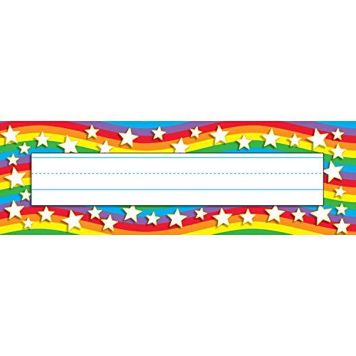 Trend Enterprises Star Rainbow Desk Topper Name Teller, 36pro Paket (t-69026)