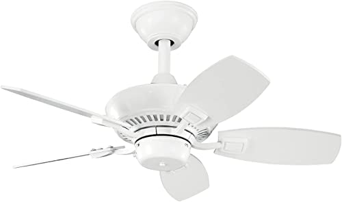 high quality Kichler online 300103WH 30-Inch Canfield Fan, high quality White online