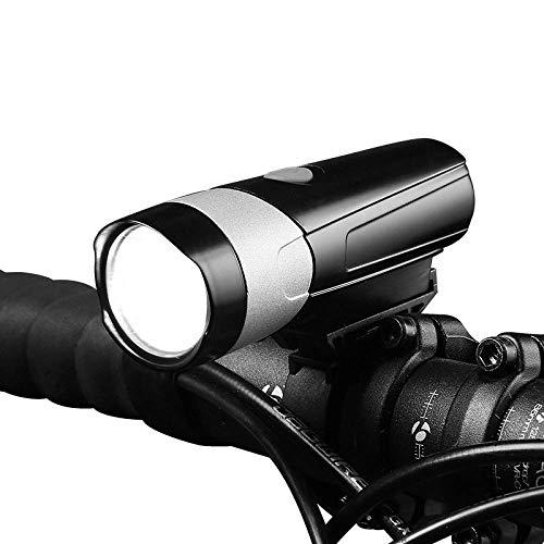 HUANGS USB Wiederaufladbare Fahrradbeleuchtung, StVZO Zugelassen, Leistungsstarke 300 Lumen Scheinwerfer, LED Fahrradscheinwerfer Wasserdicht IP65, Nachtlichter Für Mountainbikes Rennradbeleuchtung