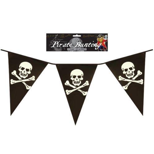 Other Banderines de Pirata y Cruz para Niños o Fiestas de Cumpleaños, PVC DE 30 cm