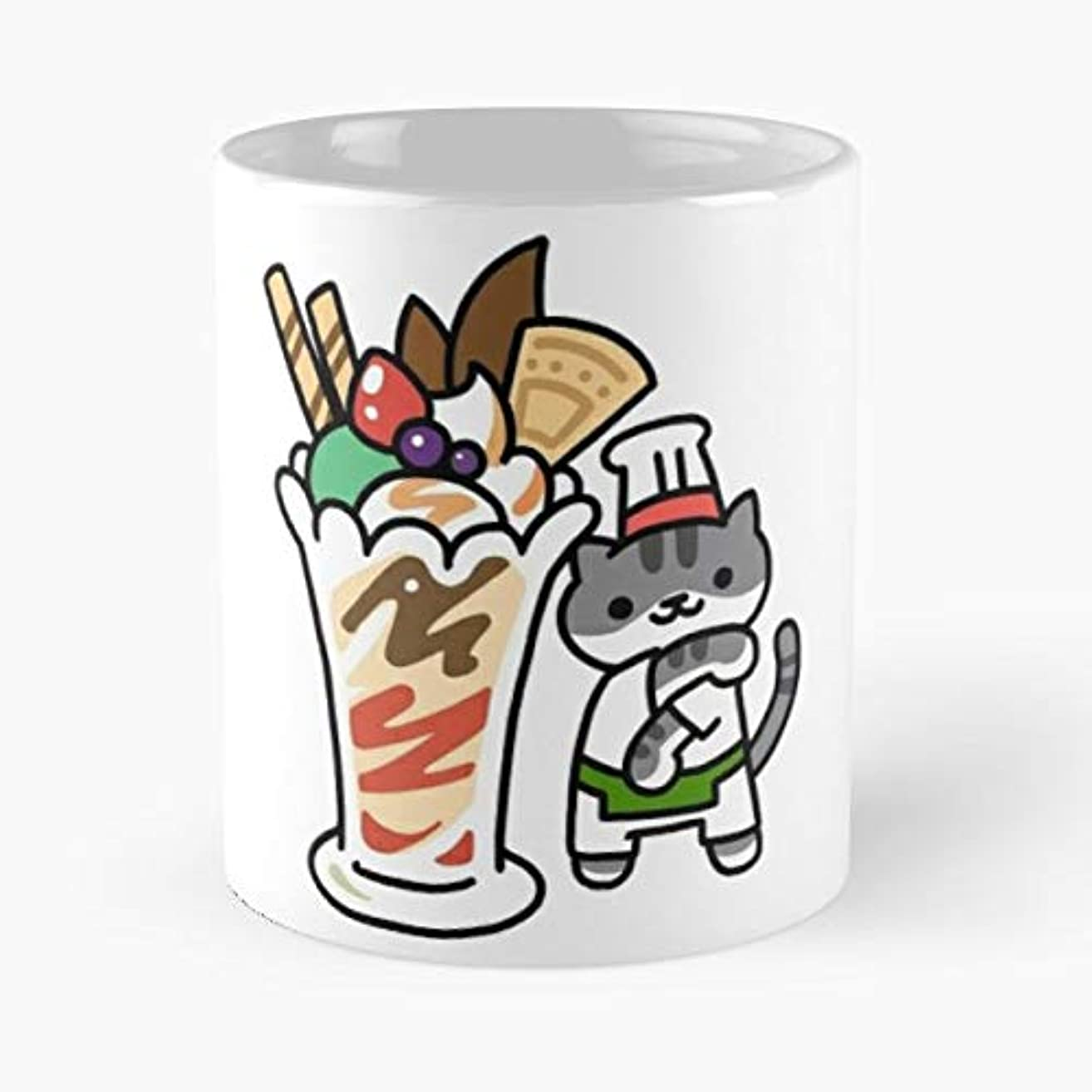 Cat Cats Kitten Kittens -funny Gifts For Men And Women Gift Coffee Mug Tea Cup White-11 Oz.