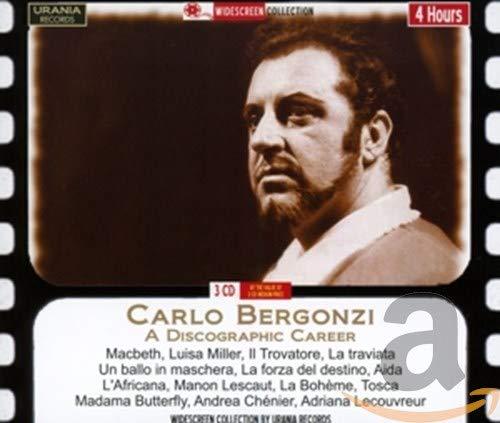 Carlo Bergonzi: Diskographie Einer Karriere