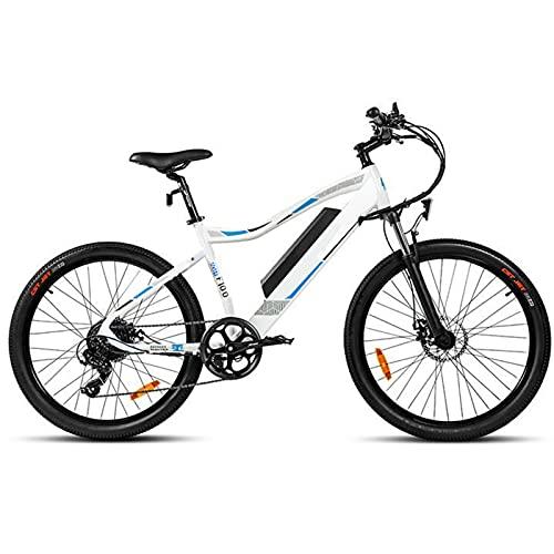 CM67 Mountainbike E-Bike Premium 26 Zoll E-MTB E-Bike Damen Aus Aluminum Ebike 7 Gang Herren mit LED-Licht E-PAS Fahrräder Ausdauer 65-80km Mühelos zum Pendeln Transportieren Ausflügen