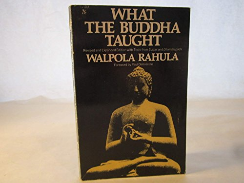 What the Buddha Taught, Weidenfeld