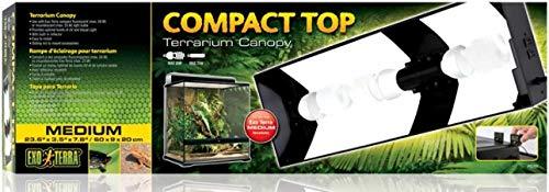 Exo Terra Compact Top Mitel Terrarienabdeckung für Terrarien mit einer Breite von 60cm