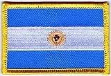 Flaggen Aufnäher Patch Argentinien Fahne Flagge NEU