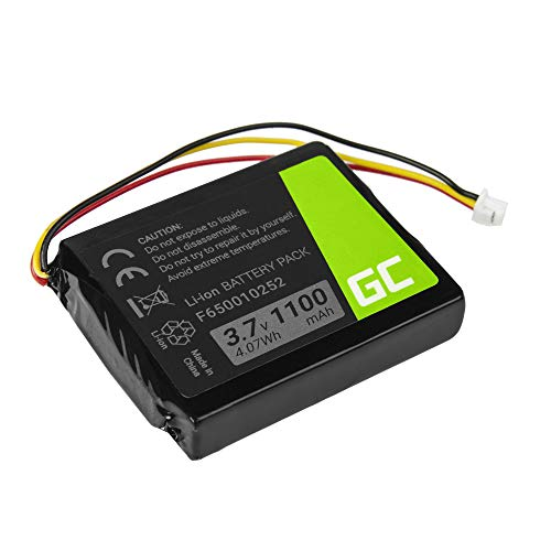 Green Cell ® F650010252 F709070710 Batería para navegación GPS Tomtom NVT2B225 One Europe V2 V3 V5 One XL IQ Regional S4l Rider (Li-Ion Células 1100mAh 3.7V) confiabilidad, 100% de Coincidencia