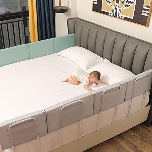 Barrera seguridad niños cama Se puede levantar verticalmente Barrera seguridad niños cama Barrera de seguridad para niños Para cunas y camas de padres