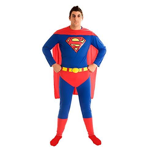 Fantasia Super Homem Std Adulto 943053-p Sulamericana Fantasias Azul/vermelho Adulto