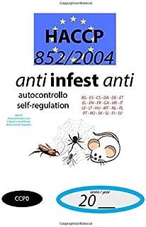 Antinfestanti (CCP0): 852/2004 - HACCP documento di autocontrollo - self-regulation document (CCP0) (852/2004 HACCP)