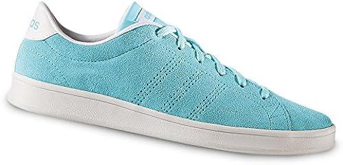 adidas Damen VS Advantage Clean Fitnessschuhe, Weiß (Ftwbla