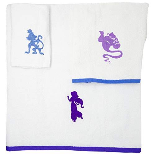 Jay Franco & Sons Disney Aladdin Arabian Nights - Juego de toallas de 3 piezas