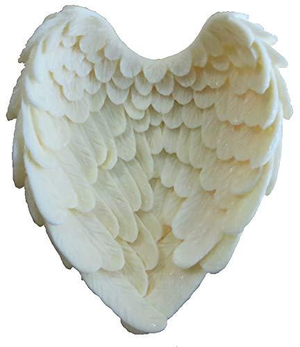 Seifenprofis® Flügel Engel Große Silikon Form Fondant Silikonform Schokoladenform Backform Seifenform (1 x Silikonform)