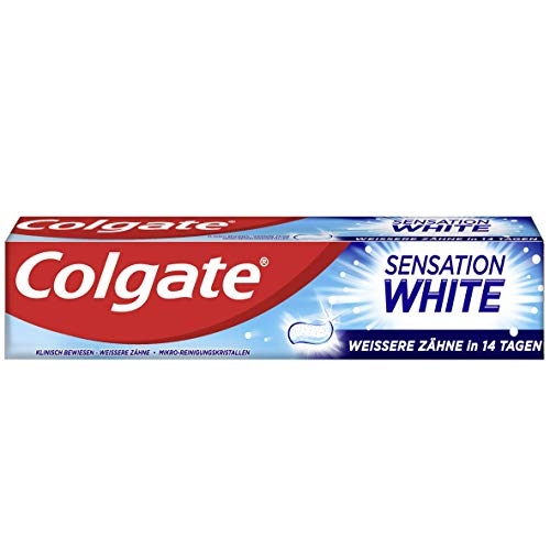 Colgate Sensation White Zahnpasta, 12 x 75ml