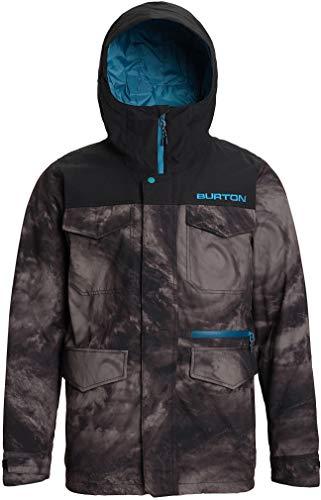 Burton Men's Covert Jacket, Low Pressure/True Black, Small