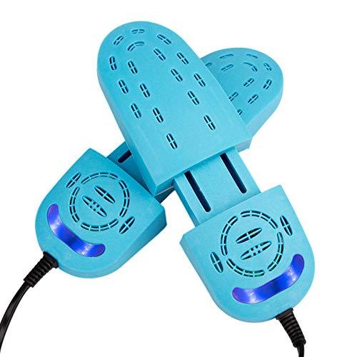 XTFF Secador De Zapatos Desodorizador Retráctil De Rosas Ultravioleta Eléctrico Calzado Secador De Guantes Secador De Calzado Secador De Zapatos Secador De Zapatos Azul
