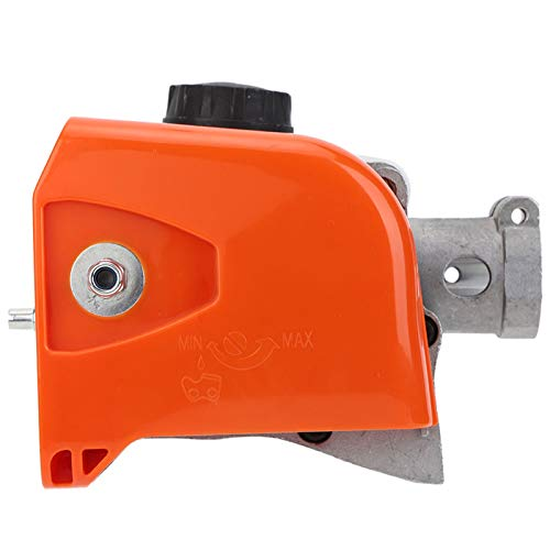 Chainsaw Gearbox Gear Head Assembly, 26mm 9 splines Multi Function Pole Saw Gearbox Head Replacement for Hedge Trimmer