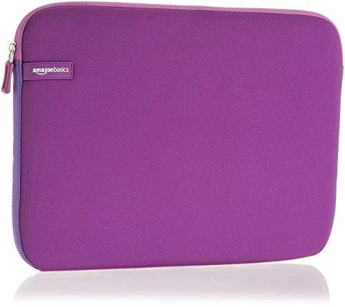 Amazon Basics, custodia per laptop, 13,3 pollici, viola