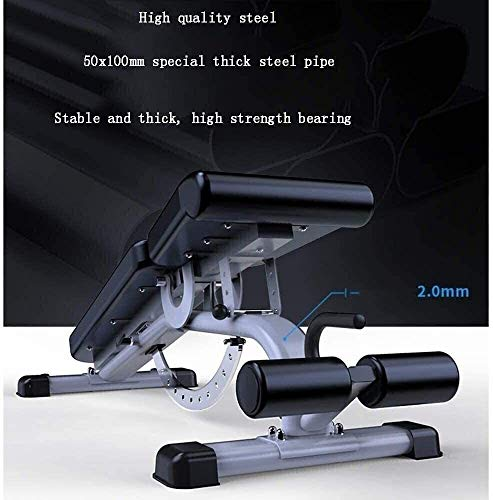 Product Image 2: ZYLHC Weight Bench Adjustable Strength Training Bench, Sit-Up Board, Abdominal Muscle Trainer, Mediate Commercial Professional Bench Press Bench Multi Functional Sit Ups Fitness Equipment