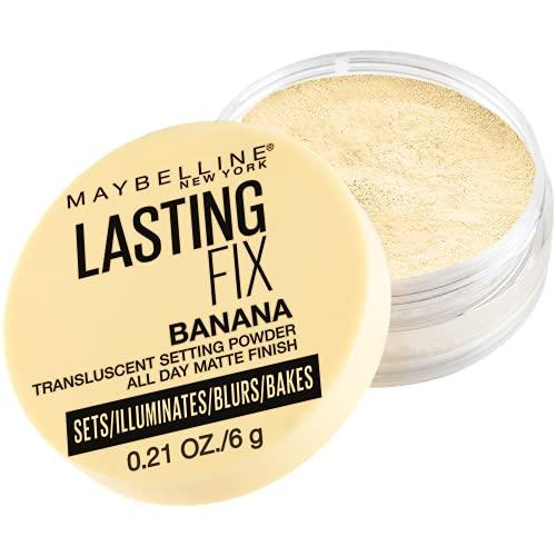 Maybelline New York Banana Powder Loose Setting Face Powder, Shade 10,...