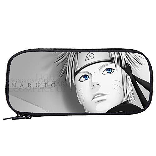 Woonn Anime 3D Impresión Naruto Estuche De Lápices Estuche De Lápices De Papelería Para Estudiantes 23 * 4.5 * 10Cm, 2