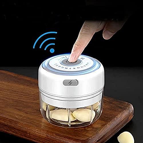 BAPJI Enterprise Electric Mini Garlic Grinder Chopper Vegetable Meat Fruit Crusher Small Food Processor