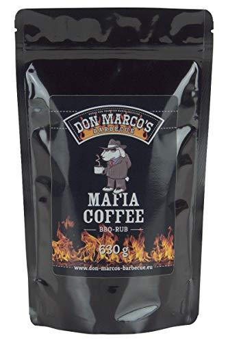 Don Marco's Barbecue Rub Mafia Coffee 630g im Nachfüllbeutel, Grillgewürzmischung