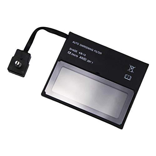 harayaa Lente Del Oscurecimiento Del Coche de La Lente de Repuesto Del Casco de Soldadura con Pantalla LCD, 110 × 90 Milímetros