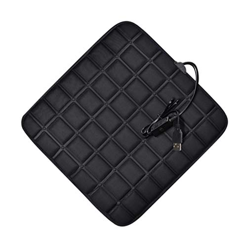 Heated Car Seat Pad 5V Heated Seat Cushions USB Car Heated Seat Pads for Cold Winter Heating Pad Universal for Car Truck SUV, Home, Office Chair