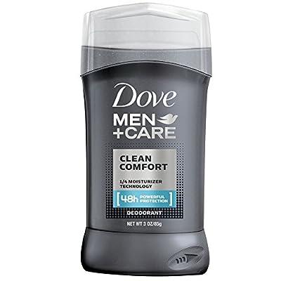 Dove Men + Care Deodorant Stick, Clean Comfort 3 oz